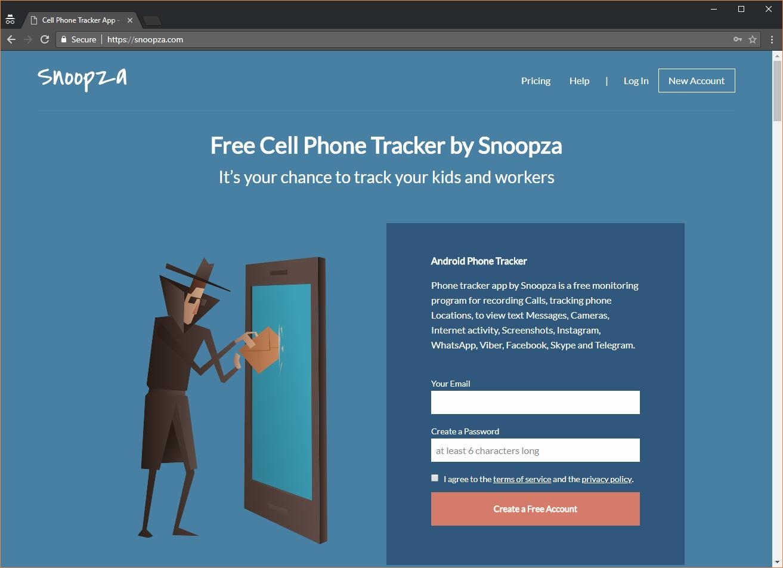 Use the spy app Snoopza